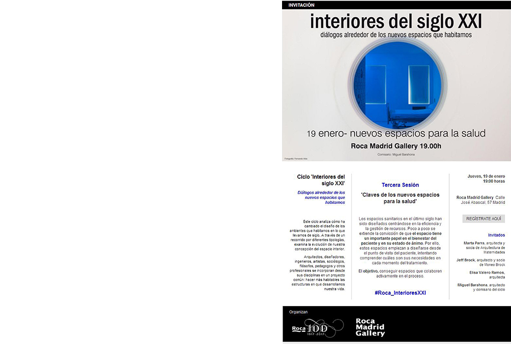 conference in roca madrid gallery